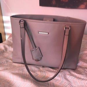 Grey classy handbag